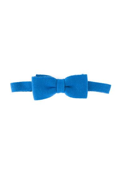 Papion albastru safir de lana virgina de la United Colors Of Benetton