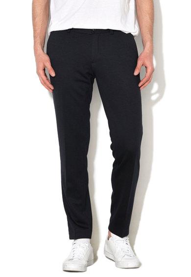 Pantaloni eleganti bleumarin inchi de la Esprit