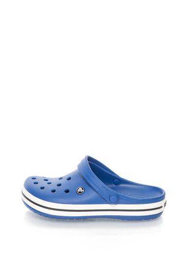 Saboti slingback albastru cu alb Crocband™ de la Crocs