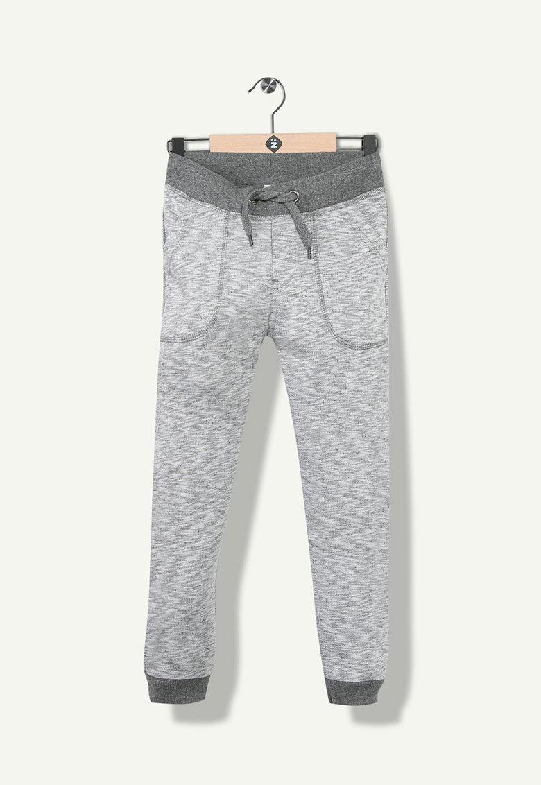 Pantaloni jogger cu talie elastica si snur pentru ajustare de la Z Kids