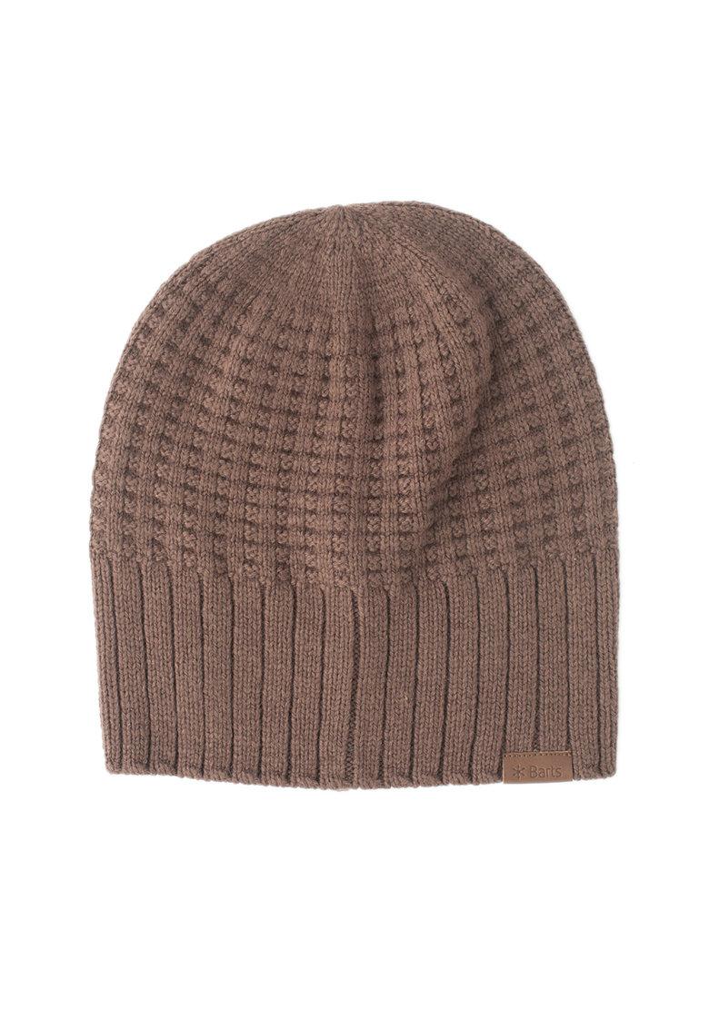 Caciula tricotata cu aspect striat Hudson de la Barts
