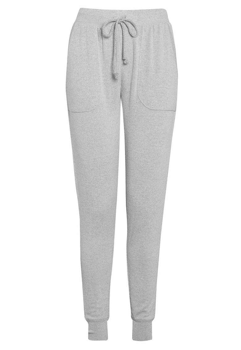 Pantaloni jogger de casa tricotati fin cu snur pentru ajustare de la NEXT