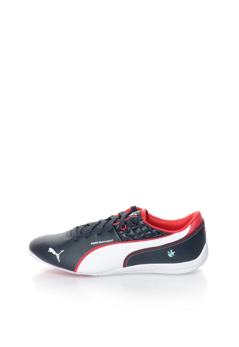 Puma Pantofi sport bleumarin inchis cu alb Drift Cat 6