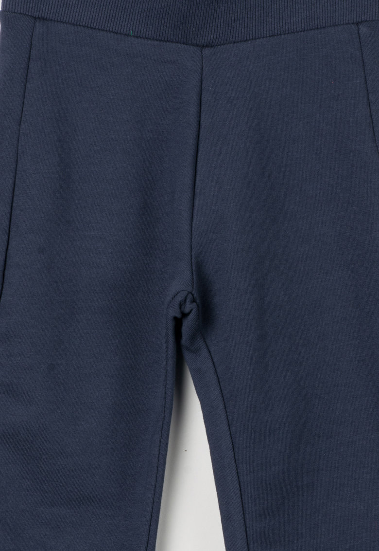 United Colors Of Benetton – Pantaloni sport bleumarin cu garnituri striate 3JD7I0152-13C
