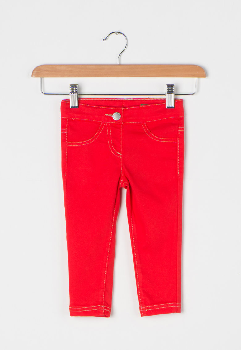 United Colors of Benetton Jeggings skinny fit cu talie ajustabila
