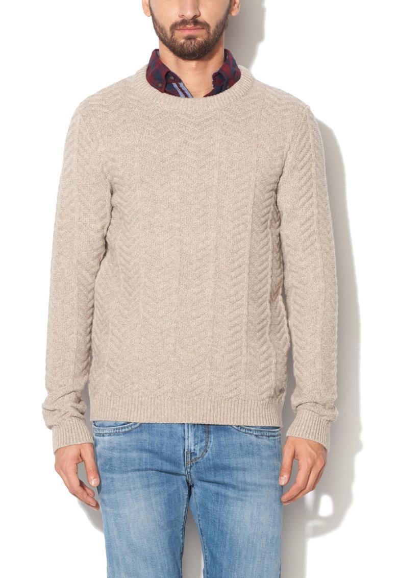 JackJones Pulover grej tricotat Granard