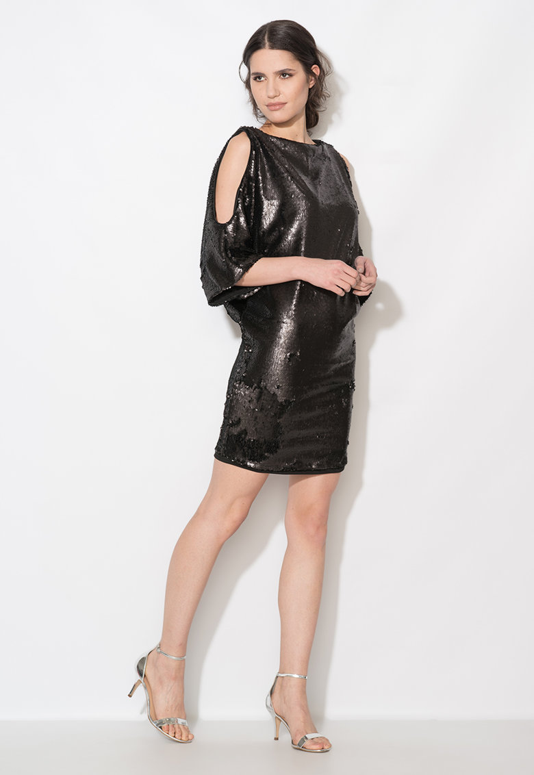 Zee Lane Collection Rochie neagra cu paiete
