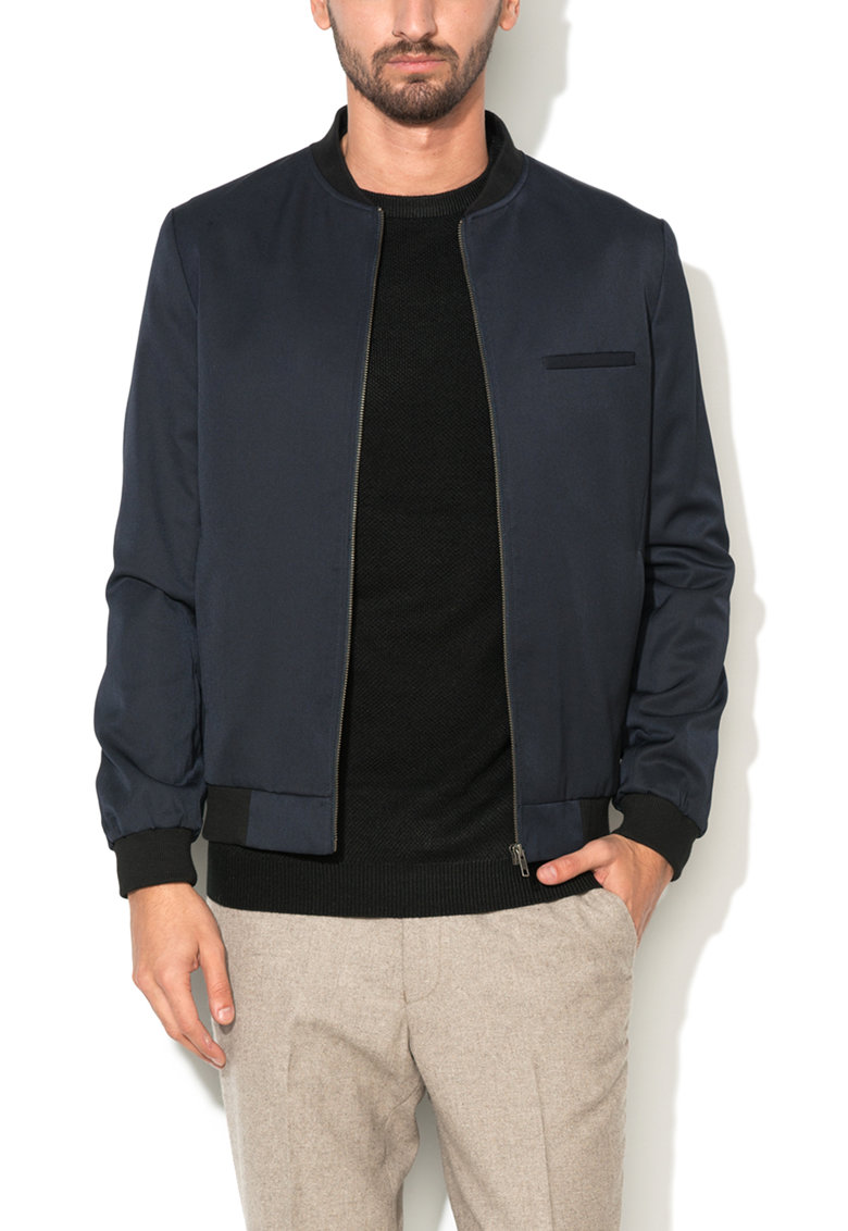 New Look Jacheta bomber bleumarin Smart