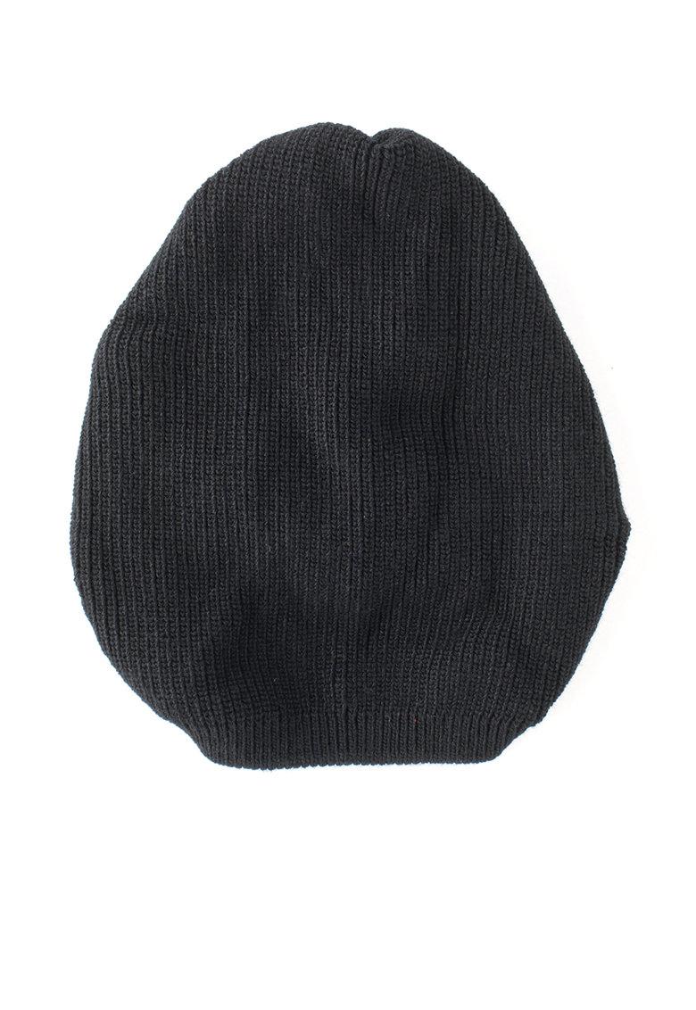 Levis Caciula tricotata fin neagra cu design amplu