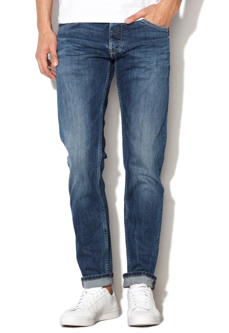 Pepe Jeans London Jeansi albastri slim fit Spike