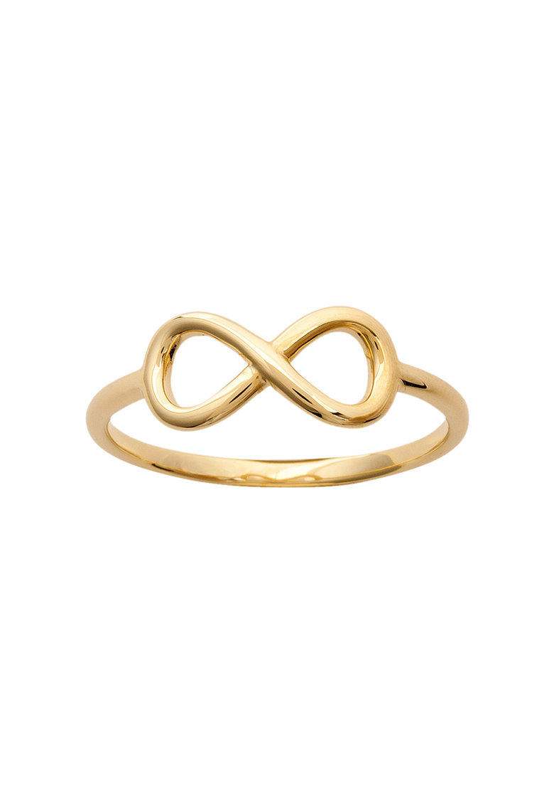 LAtelier Parisien Inel auriu cu detaliu in forma de simbol al infinitului Symbol