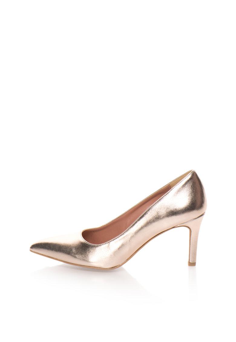 Zee Lane Pantofi auriu rose Raffy