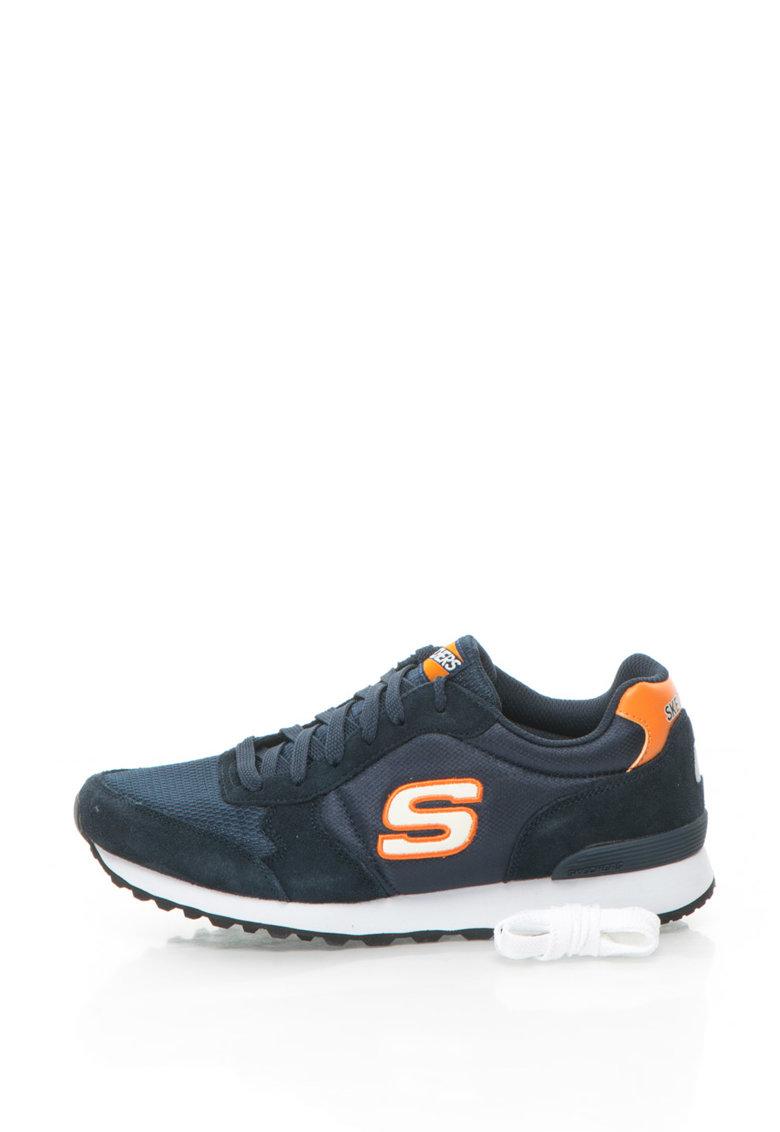 Skechers Pantofi sport cu garnituri de piele intoarsa OG 85 Early Grab