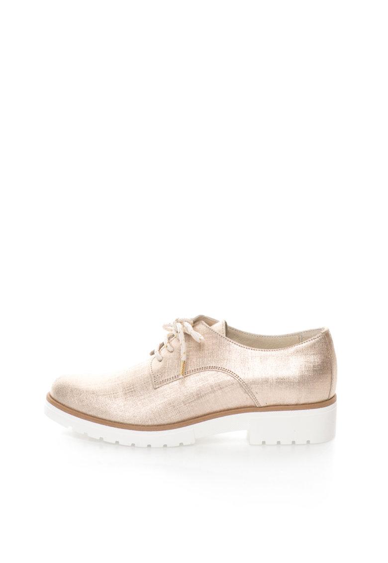Zee Lane Collection Pantofi de piele saffiano
