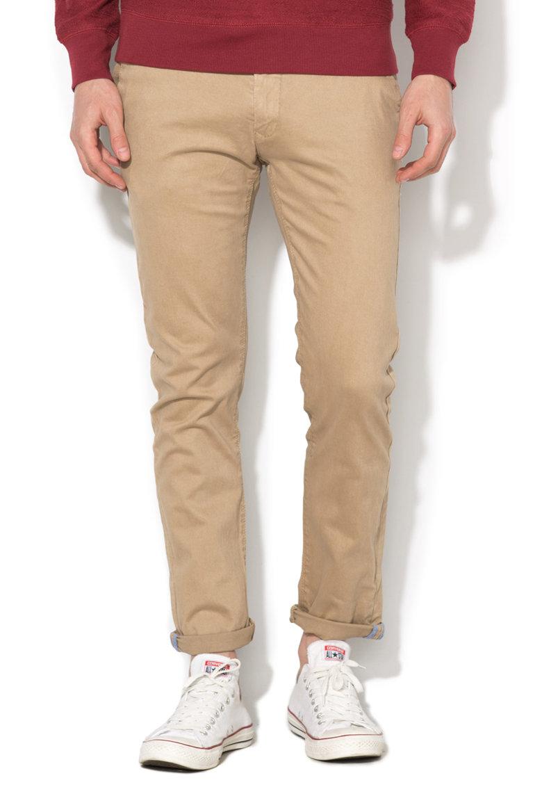 Pantaloni chino bej Alcott