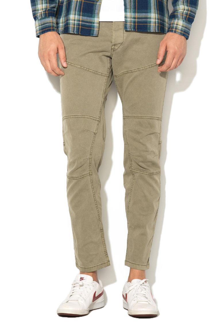 EDC by ESPRIT – Pantaloni conici verde militar decolorat 027CC2B005-360