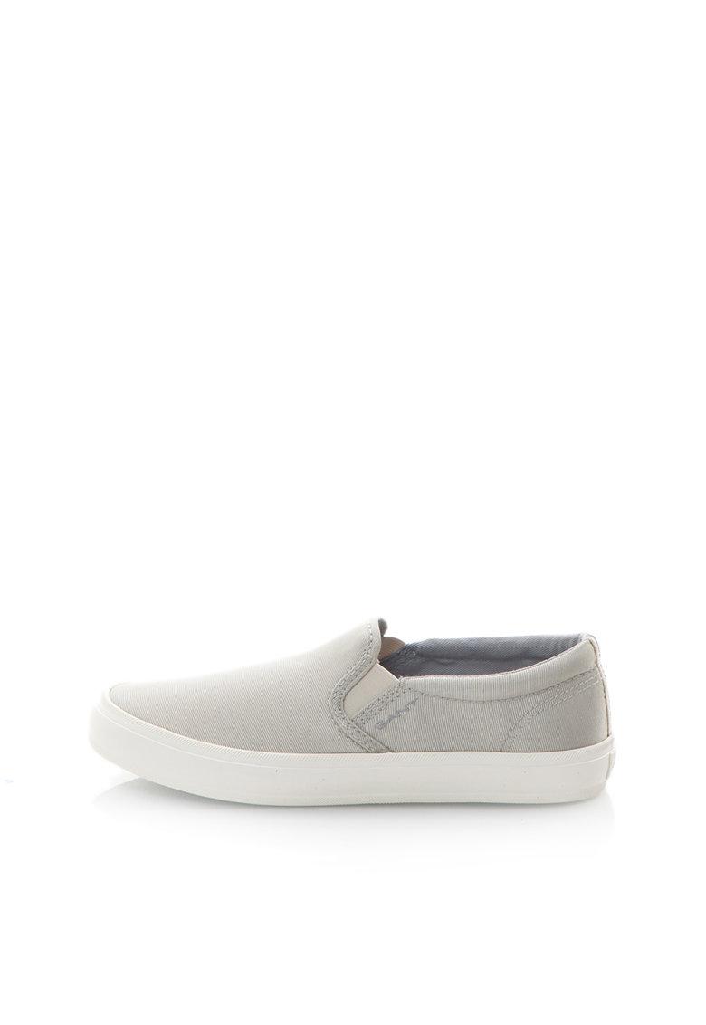 Pantofi slip-on gri argintiu Zoe de la Gant
