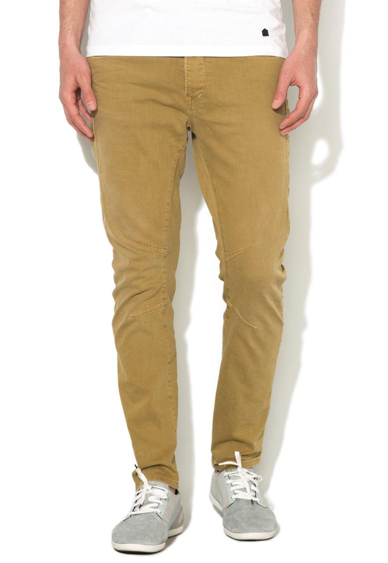 JackJones Pantaloni conici galben mustar Luke