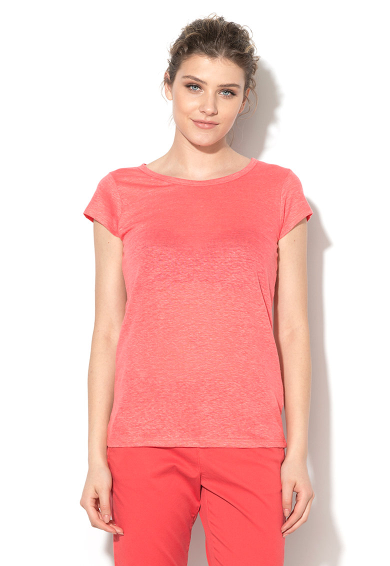 United Colors Of Benetton Tricou roz grenadine din in