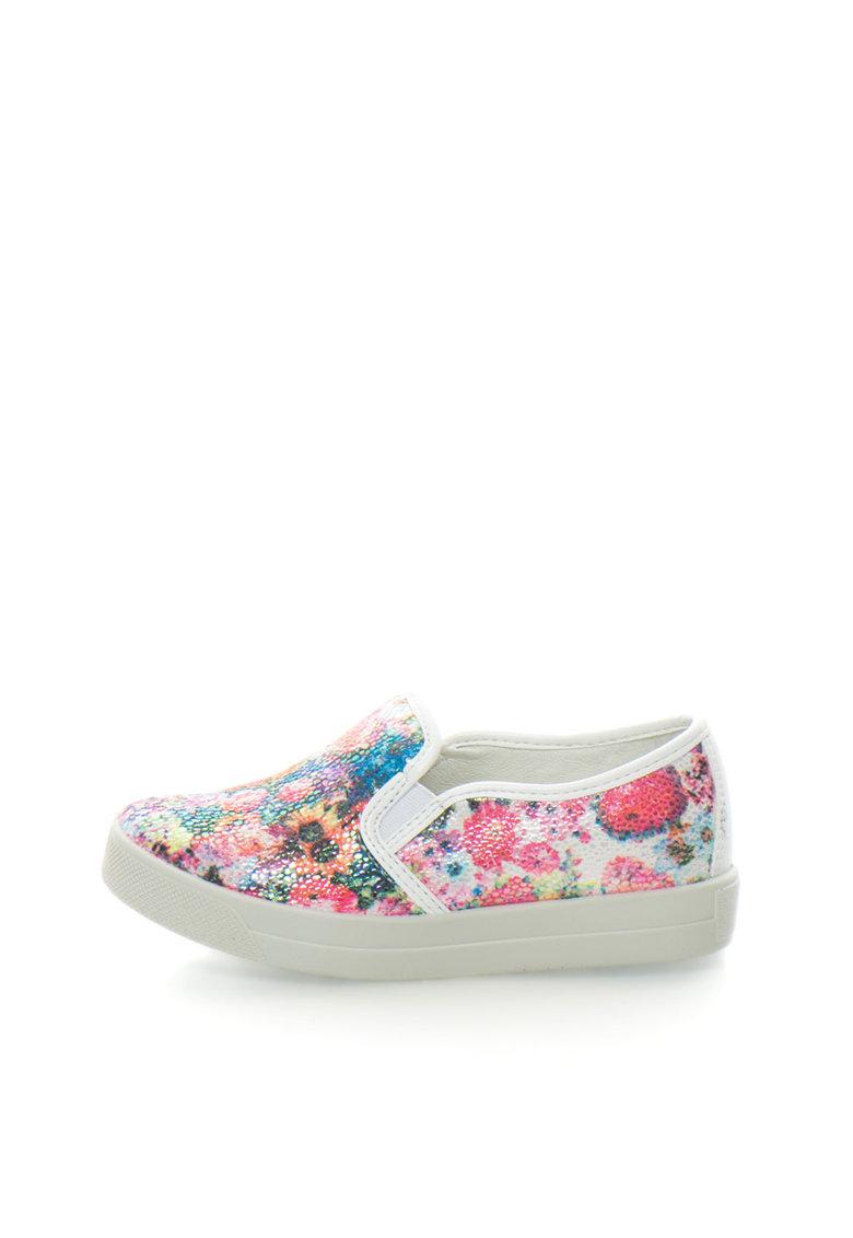 Primigi Pantofi slip-on multicolori cu imprimeu floral