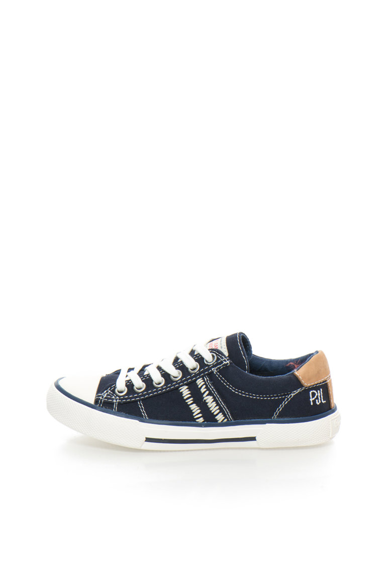 Pantofi sport bleumarin cu alb Serthi