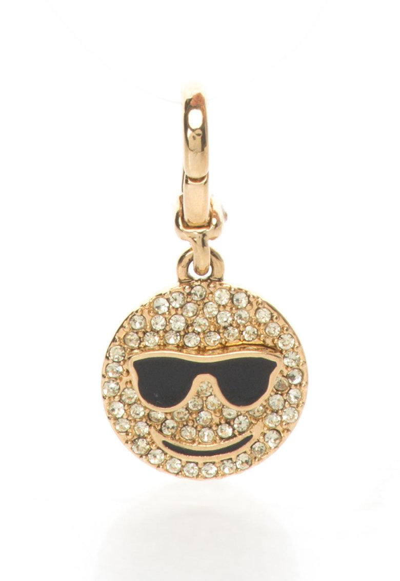 Juicy Couture Pandantiv auriu cu fata zambitoare