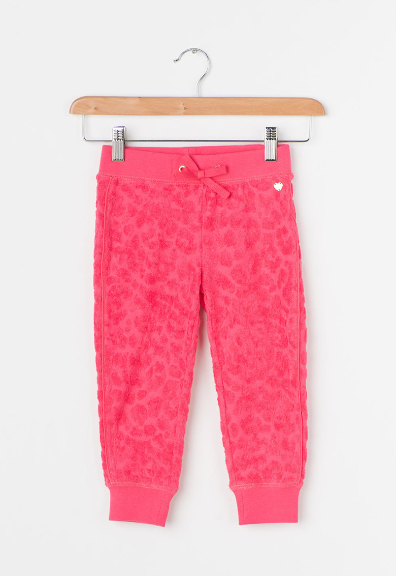 Juicy Couture Pantaloni sport roz grenadine