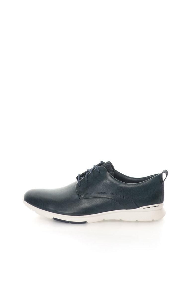 Clarks Pantofi de piele bleumarin Tynamo Walk