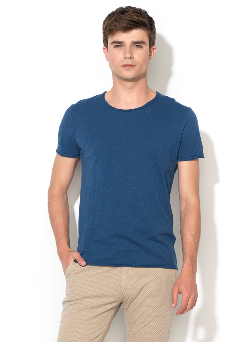 Zee Lane Denim Tricou albastru melange