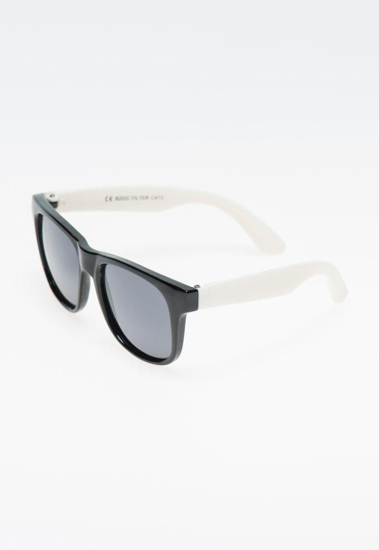 Polaroid Ochelari de soare negru cu alb si lentile polarizate