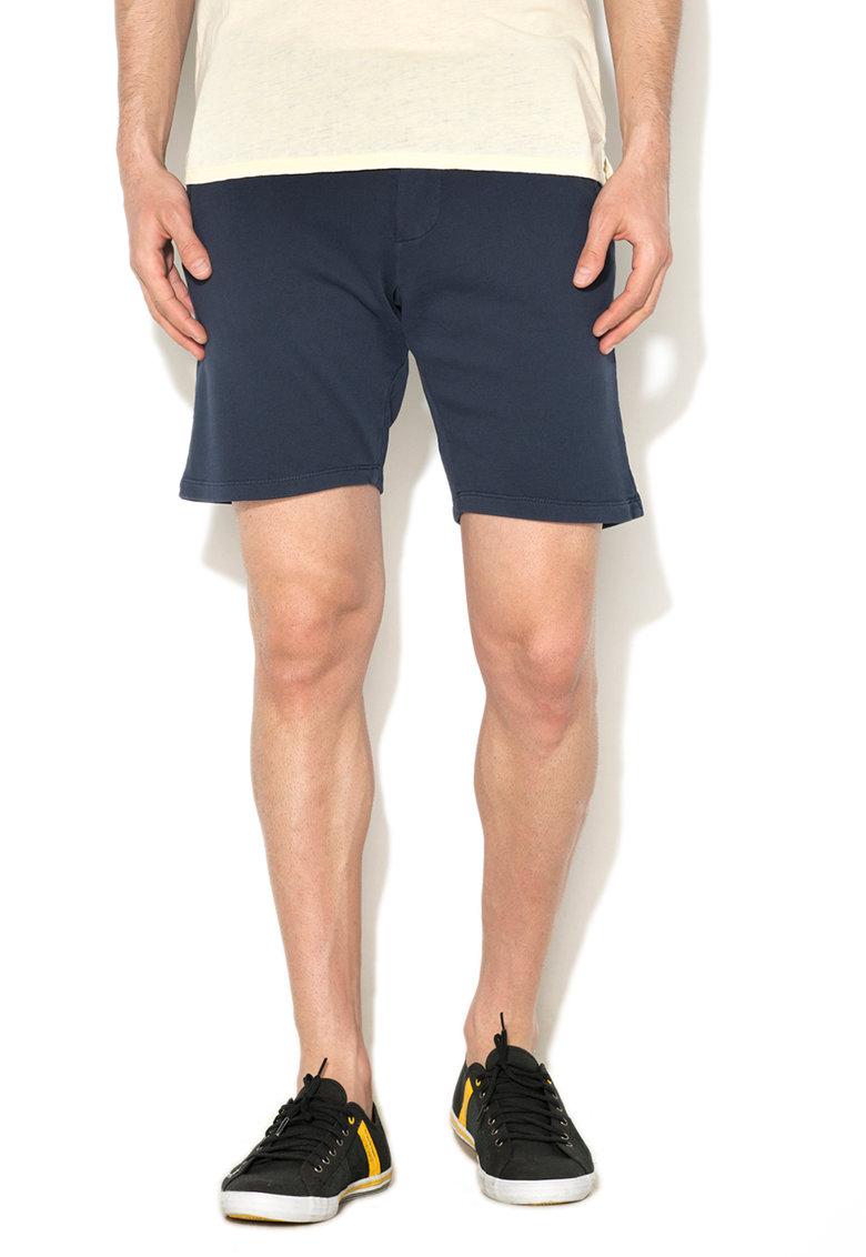 GUESS JEANS Pantaloni scurti sport bleumarin