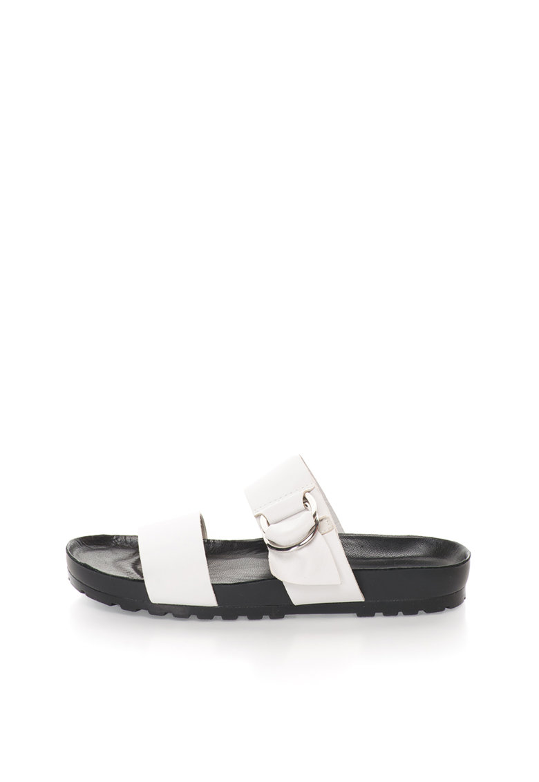 Vagabond Shoemakers Papuci albi de piele Erie