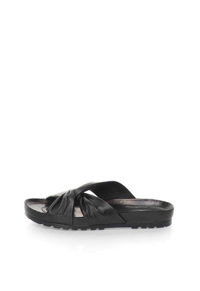 Vagabond Shoemakers Papuci negri de piele Erie