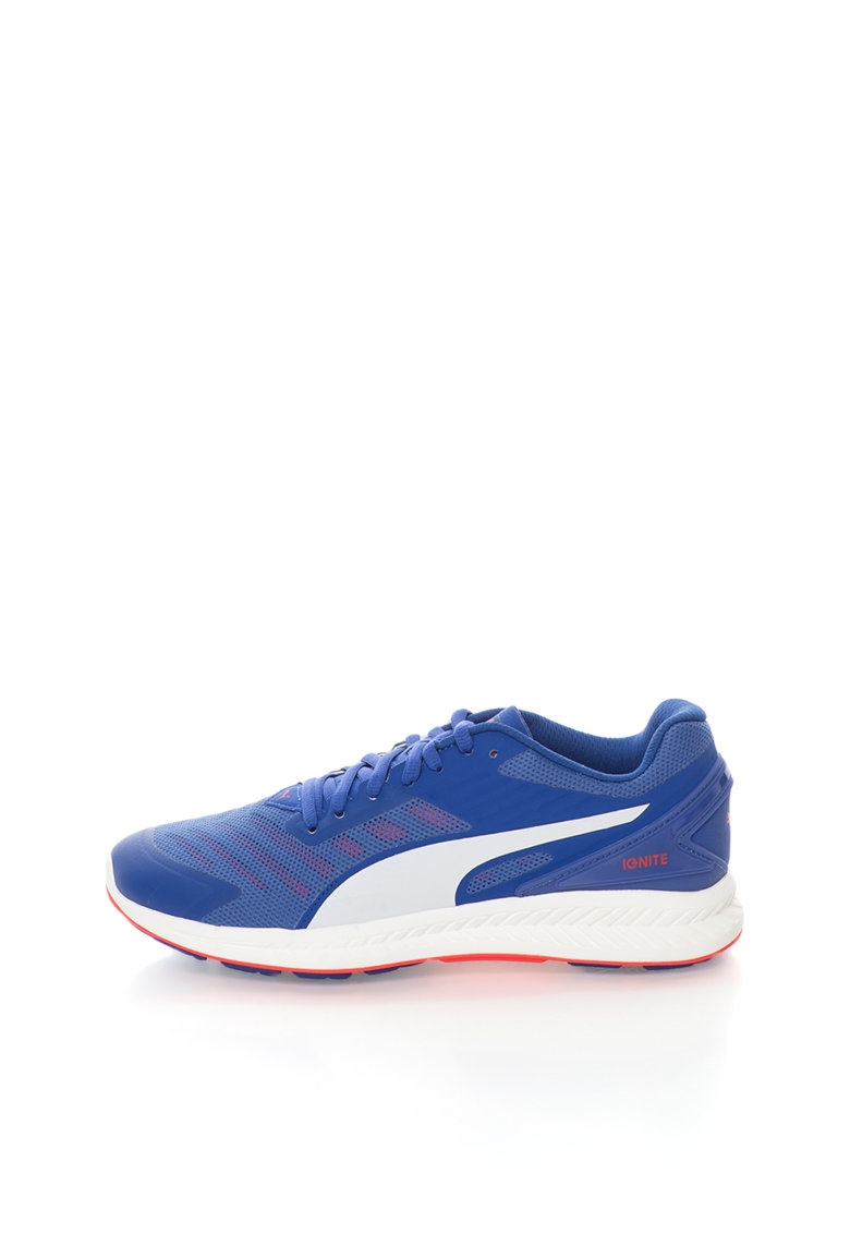 Puma Pantofi sport albastru persan cu alb Ignite v2
