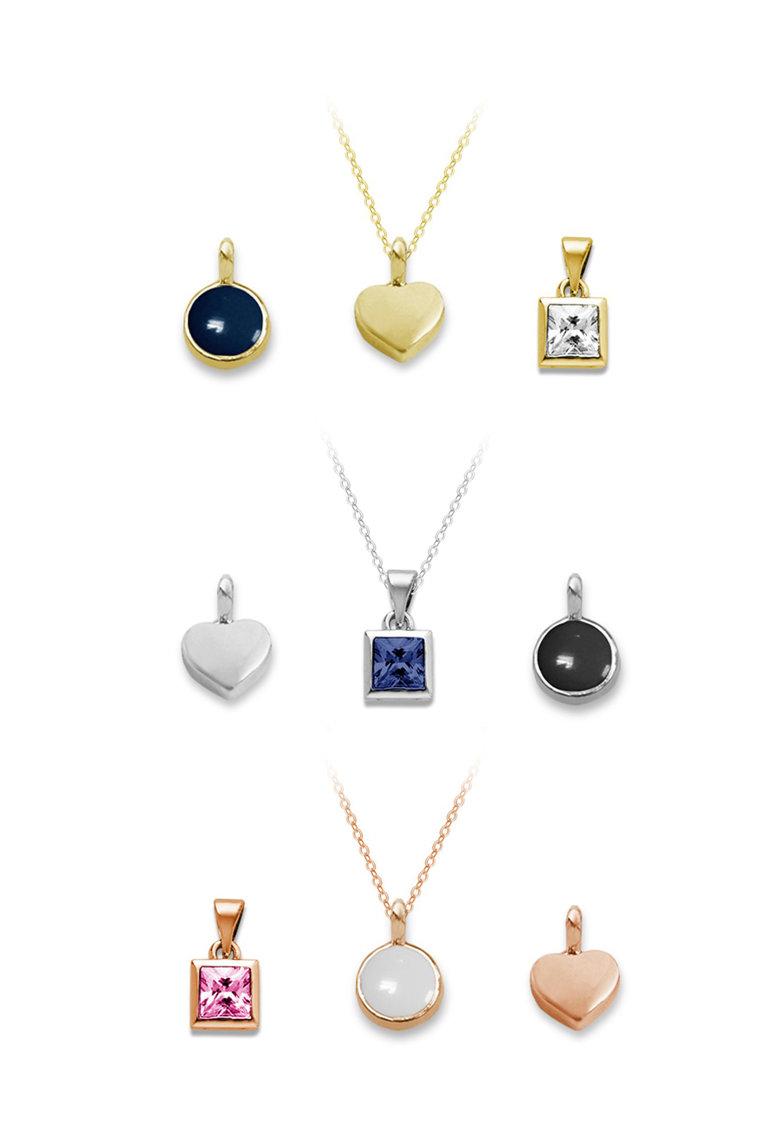 Pierre Cardin Set de coliere si pandantive multicolore – 12 piese