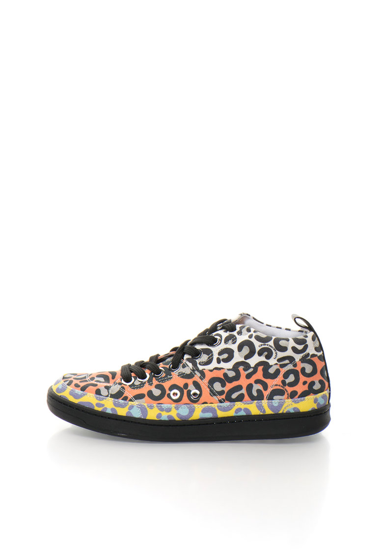 Love Moschino Tenisi mid-high multicolori