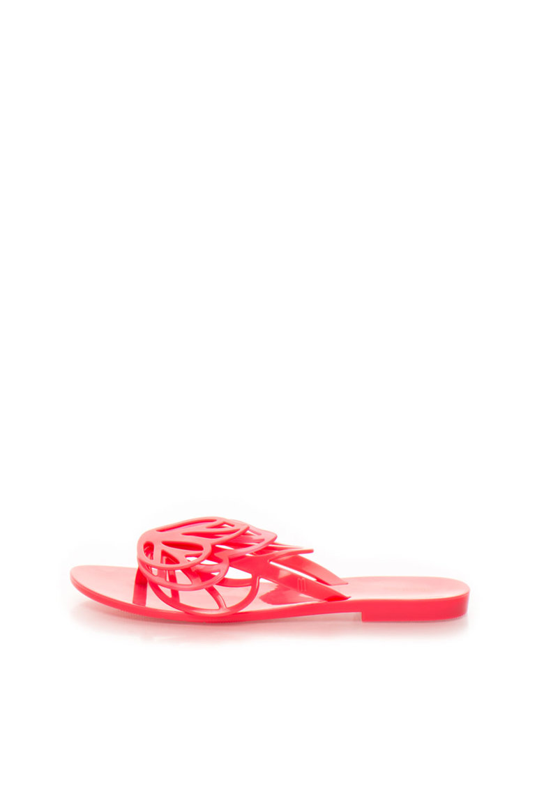 Melissa Papuci flip-flop fucsia cauciucati New Fly