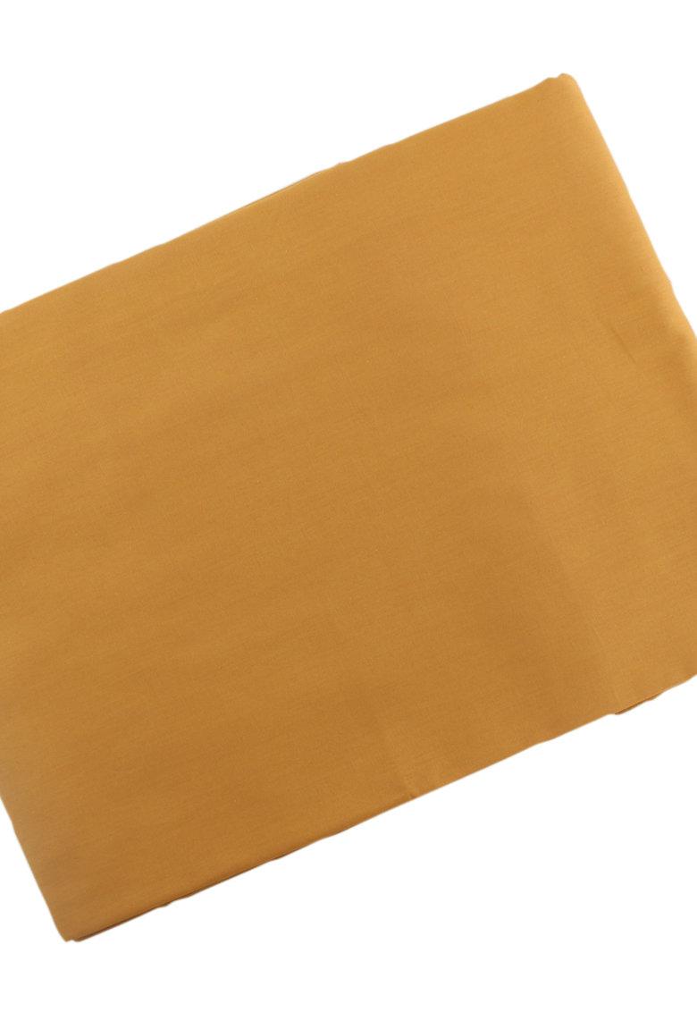 Cearsaf galben mustar cu elastic