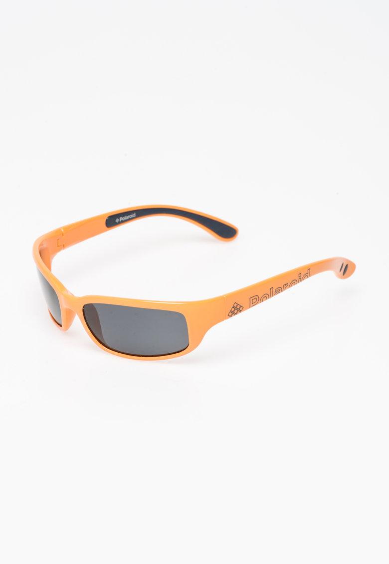 Polaroid Ochelari de soare oranj cu lentile polarizate