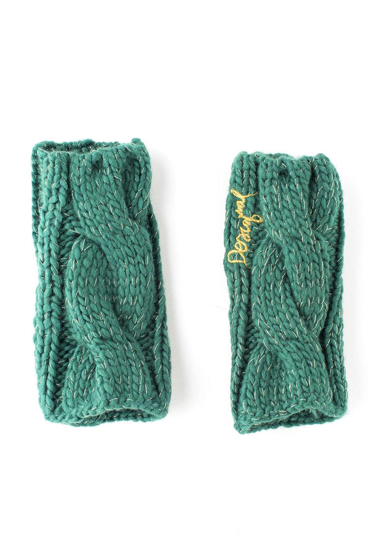 Protectii verzi tricotate pentru maini Hilo de la DESIGUAL
