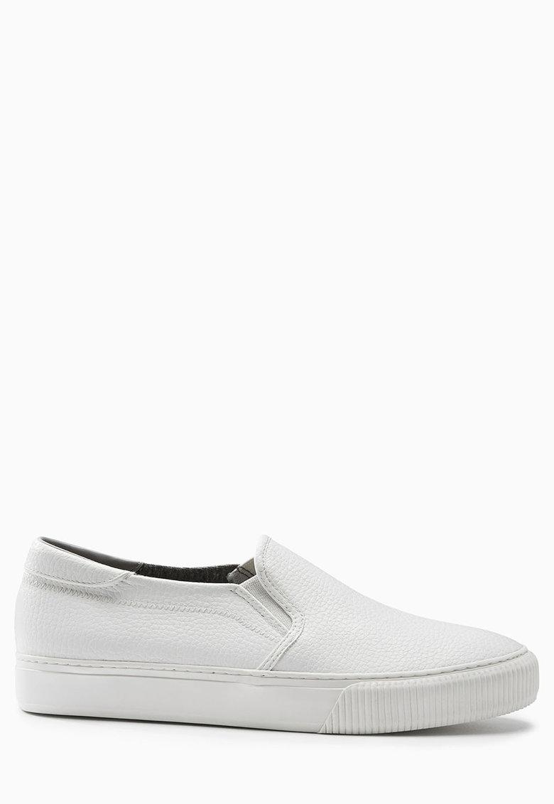 NEXT Pantofi slip-on albi