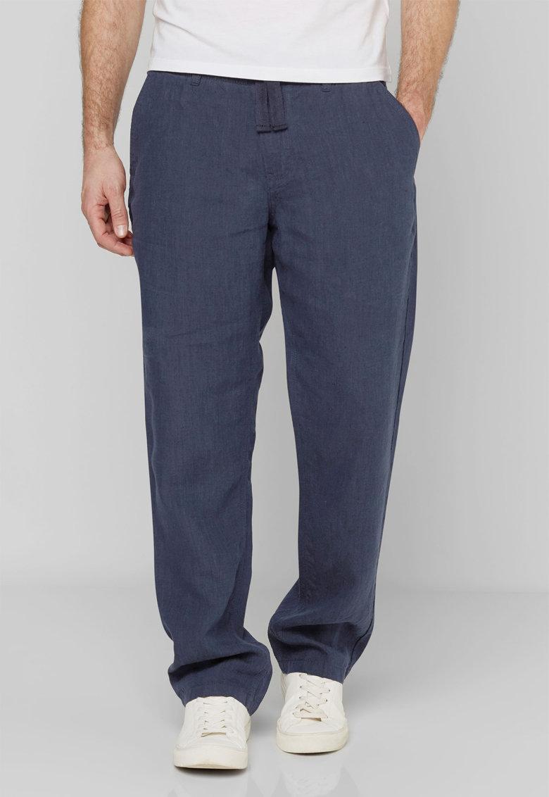 NEXT Pantaloni bleumarin slim fit din in