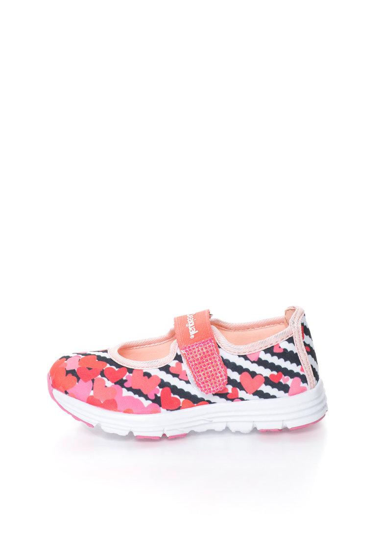 Pantofi sport Mary Jane multicolori Trazos