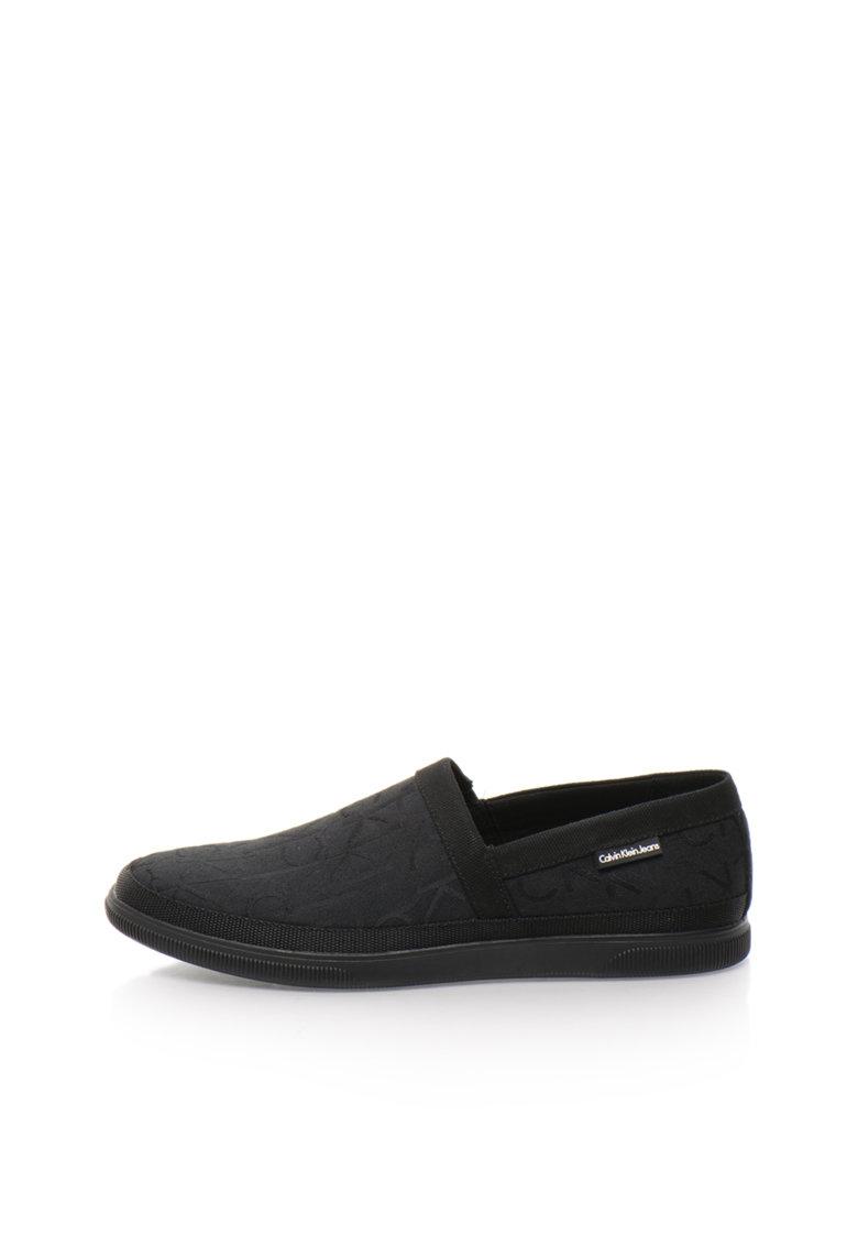 Calvin Klein Jeans Pantofi slip-on negri Ulf