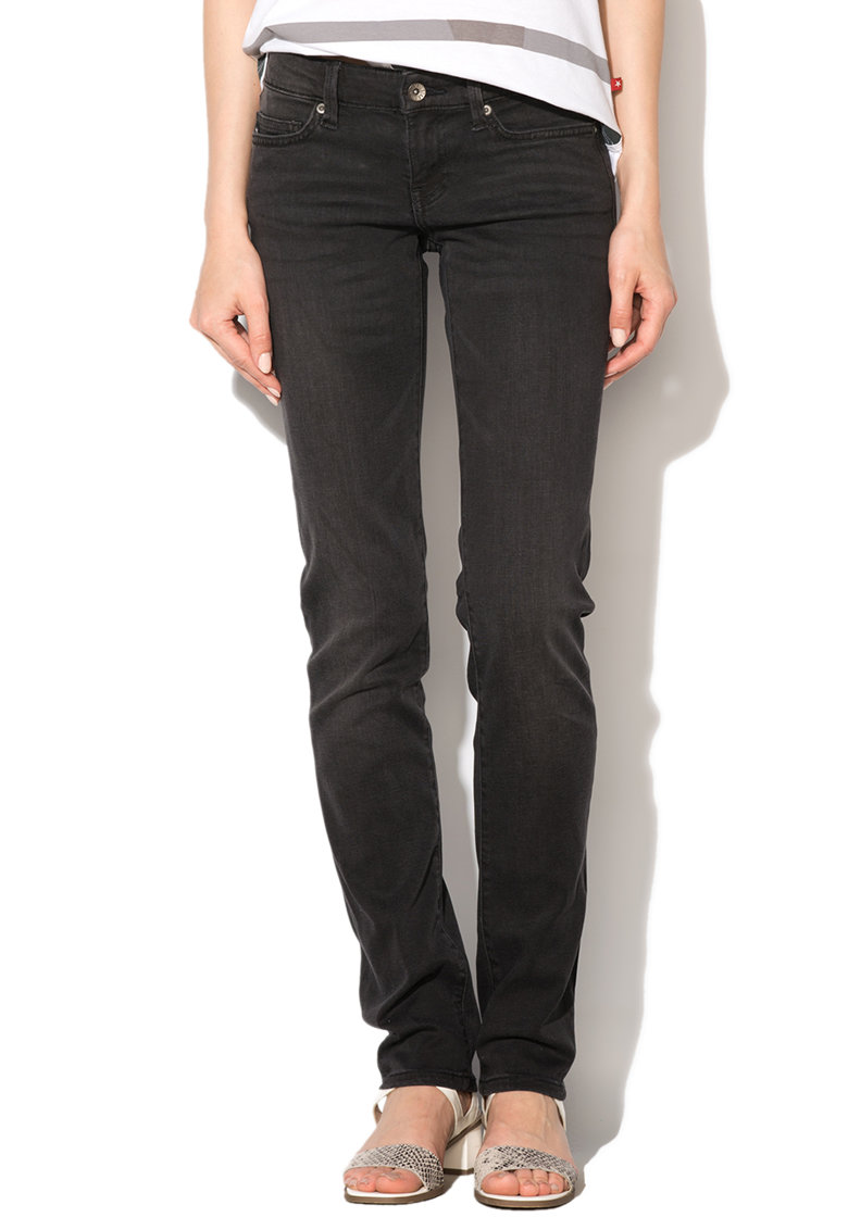 Big Star Jeansi skinny gri antracit Demi 901
