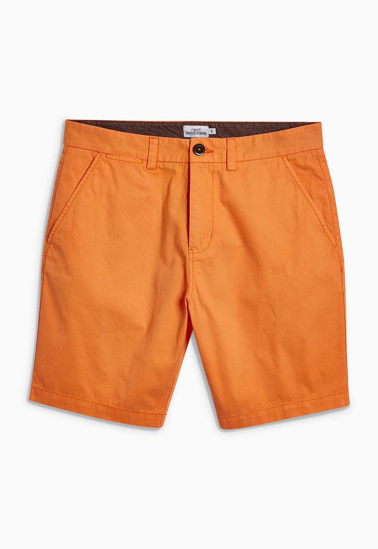 NEXT Pantaloni scurti chino oranj mandarina