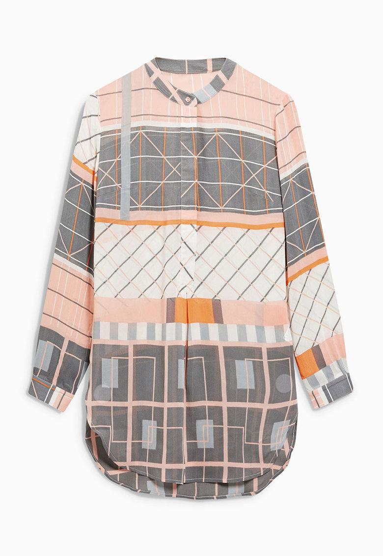 NEXT Camasa lunga tip tunica multicolora