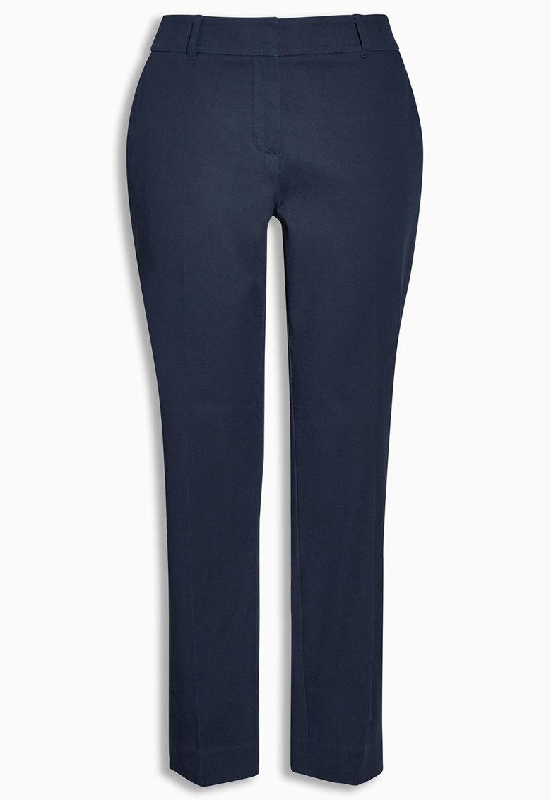 NEXT Pantaloni crop bleumarin