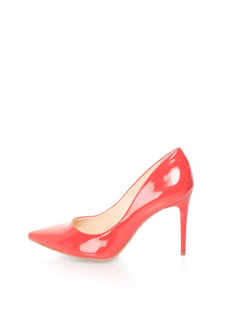 Versace 1969 Abbigliamento Sportivo Pantofi stiletto corai de piele sintetica Violaine