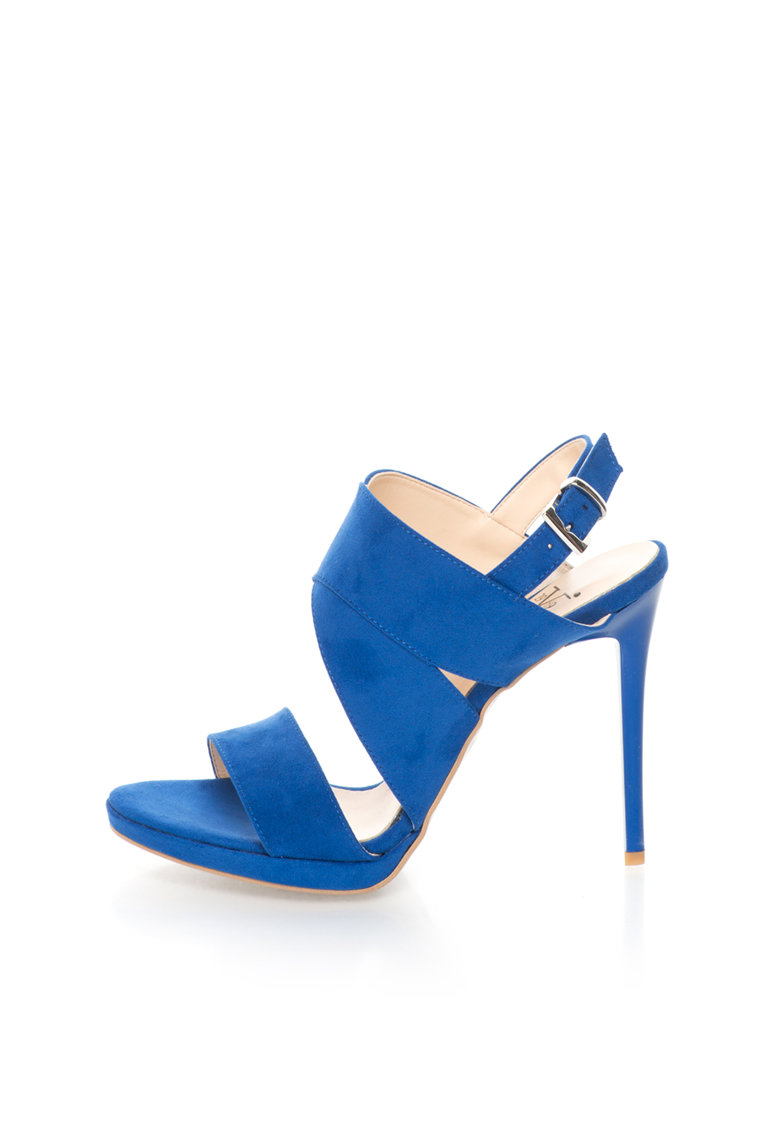 Versace 1969 Abbigliamento Sportivo Sandale albastru royal Irmine